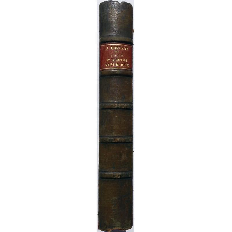 1848 et la seconde république EO avec couverture conservée