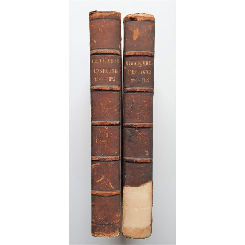 2 TOMES Essais historiques et critiques pour servir à l'Histoire d'Espagne de 1820 à 1823