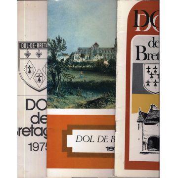 3 premiers numeros de la revue Dol de Bretagne