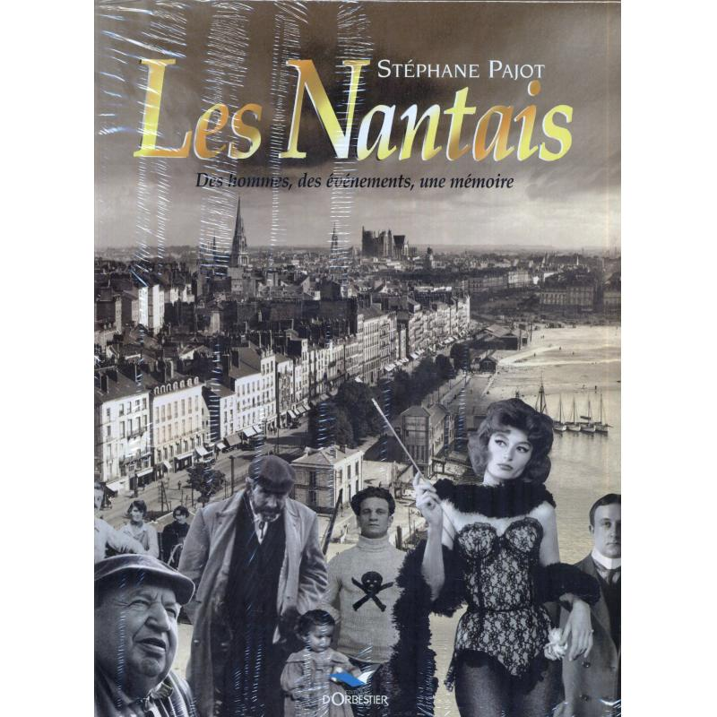 3 tomes de Stéphane Pajot Nantes fascinante les nantais bons baisers