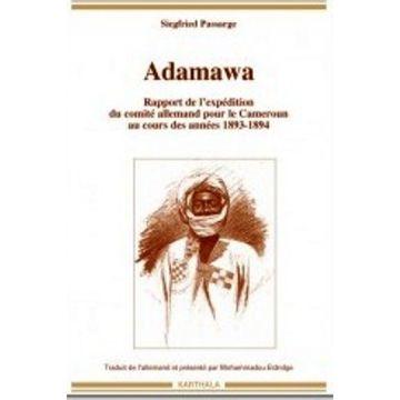 Adamawa rapport de l'expédition du comité allemand pour le Cameroun au cours des années 1893-1894