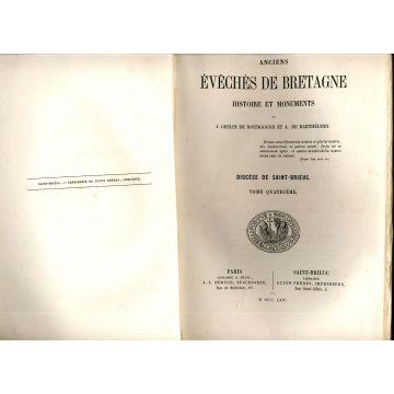 Anciens eveches de Bretagne histoire et monuments tome 4