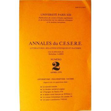 Annales du C.E.S.E.R.E Numéro 2