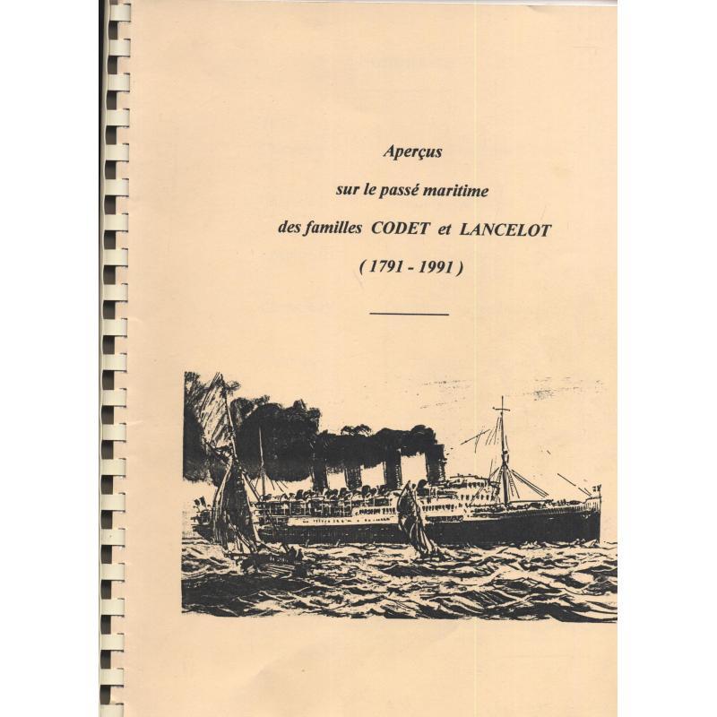 Aperçus sur le passé maritime des familles CODET et LANCELOT (1791-1991)