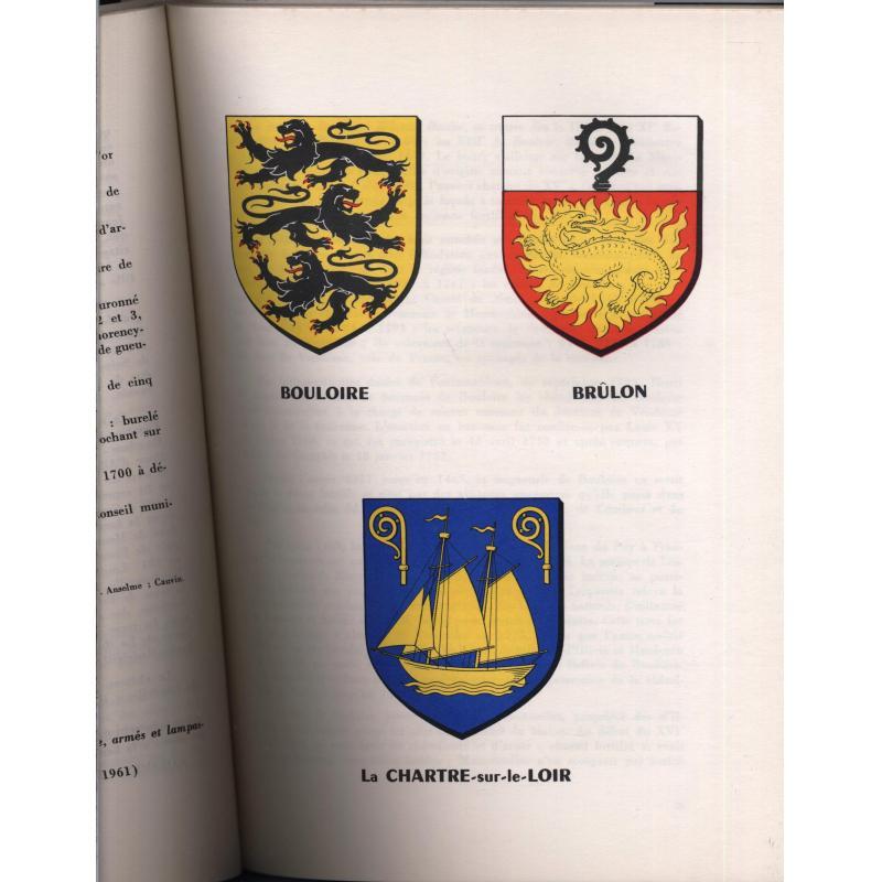 Armorial des communes de la Sarthe, Chefs lieux de canton numerote