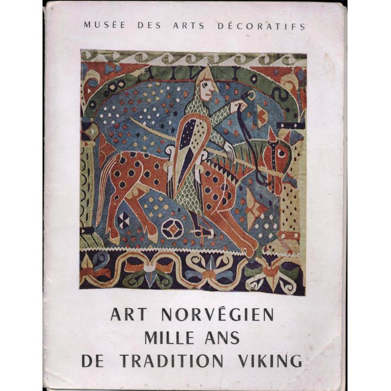 Art norvégien, mille ans de tradition Wiking