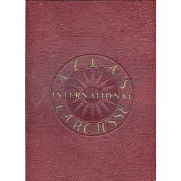 Atlas international Larousse politique et economique trilingue Français-Anglais-Espagnol