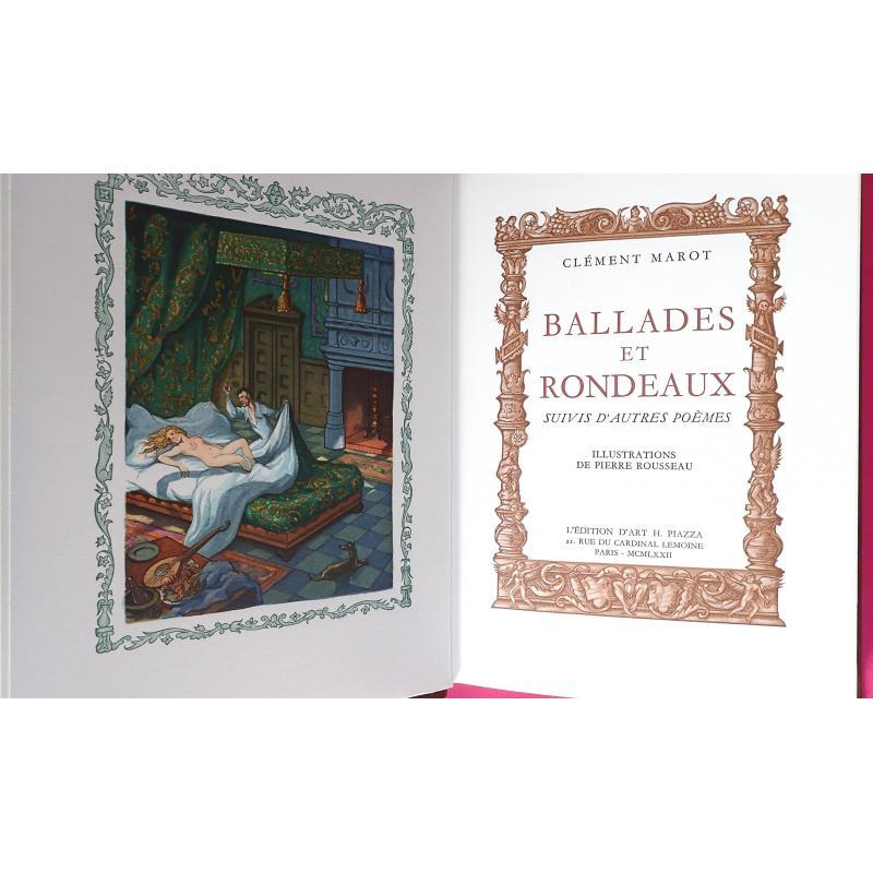 Ballades et rondeaux suivis d'autres poèmes Exemplaire numeroté