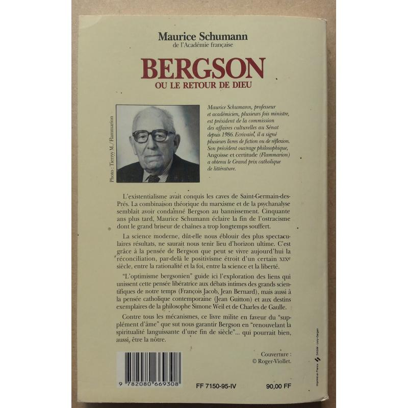Bergson ou le retour de Dieu