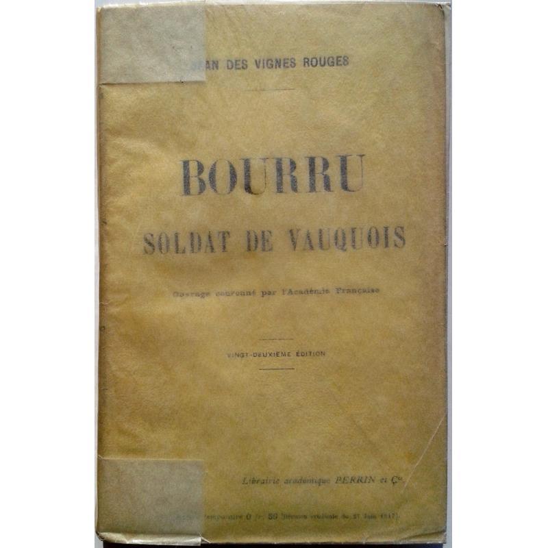 Bourru soldat de Vauquois