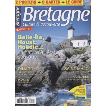 Bretagne culture & decouverte n°1