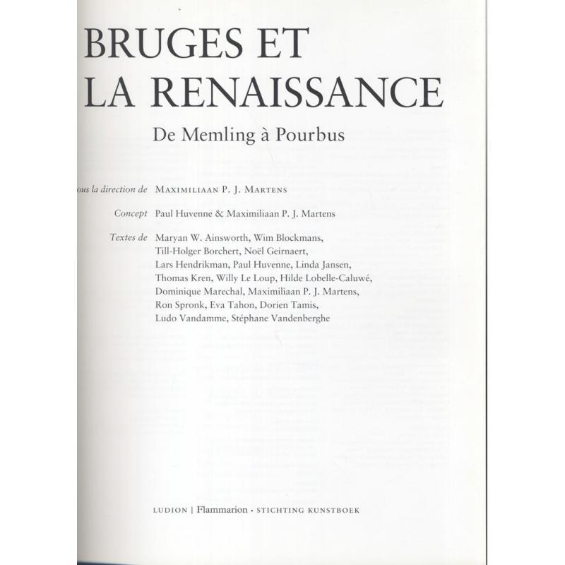 Bruges et la Renaissance de Memling à Pourbus