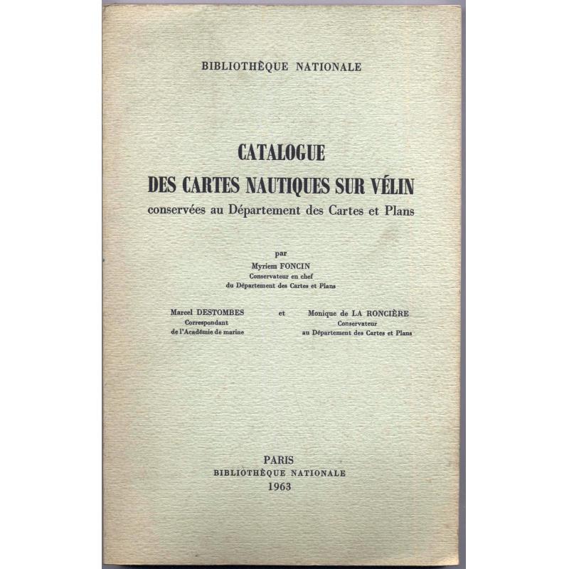 Catalogue des cartes nautiques sur velin