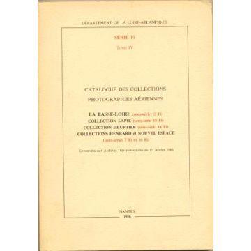 Catalogue des collections Photographies aériennes série FI tome IV