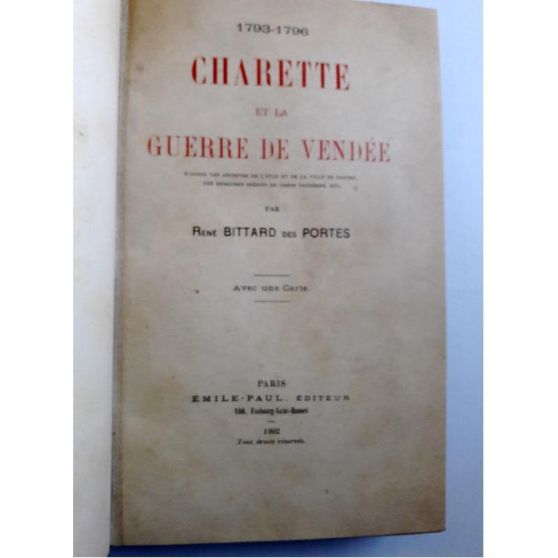 Charette et la guerre de Vendée 1793 - 1796