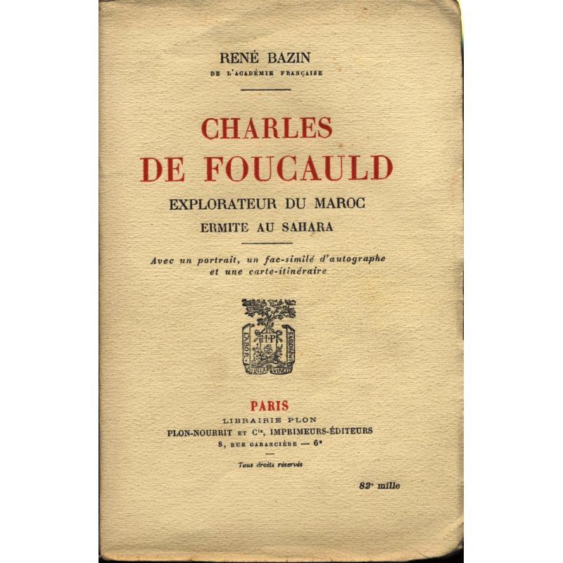 Charles de Foucauld explorateur au Maroc
