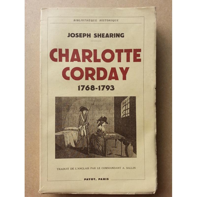 Charlotte Corday 1768-1793