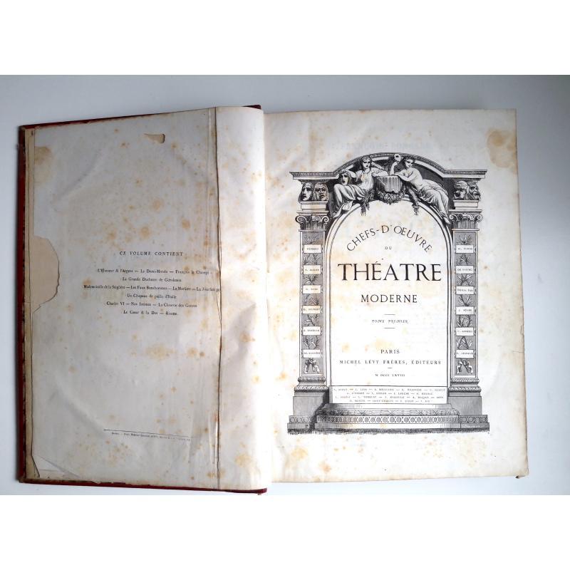 Chefs - d'oeuvre du Théatre moderne Premier et deuxième tomes