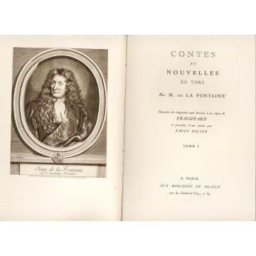 Contes et nouvelles en vers par La Fontaine Numérotés