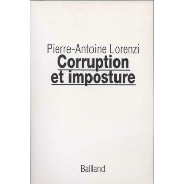 Corruption et imposture