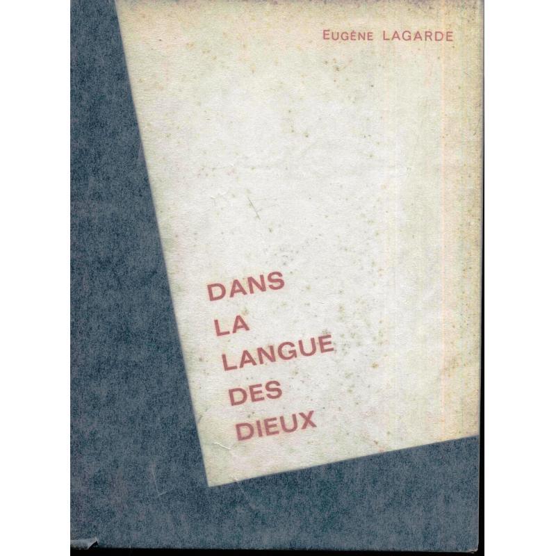 Dans la langue des dieux (recueil de poésies)