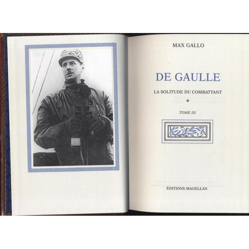 De Gaulle les 8 tomes