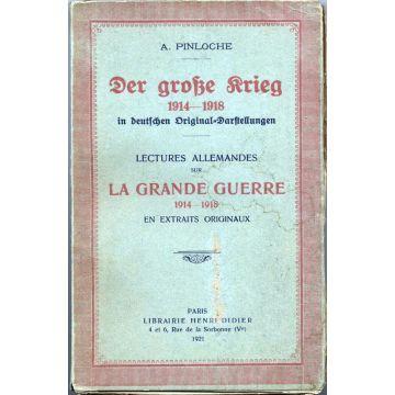 Der grosse krieg 1914-1918 in Deutschen original darstellungen Lectures