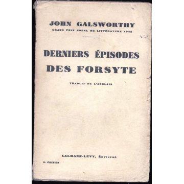 Derniers episodes des Forsyte