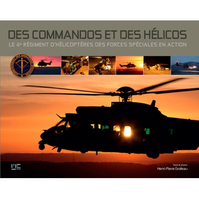 Des commandos et des hélicos le 4è régiment d'hélicoptères des forces spéciales