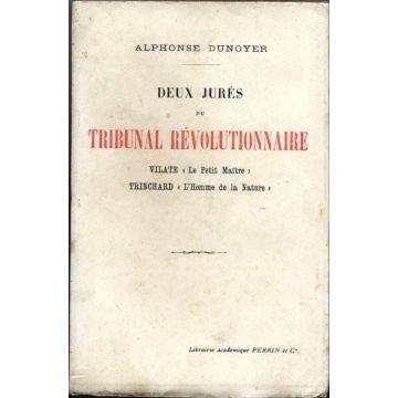 Deux jurés du tribunal revolutionnaire