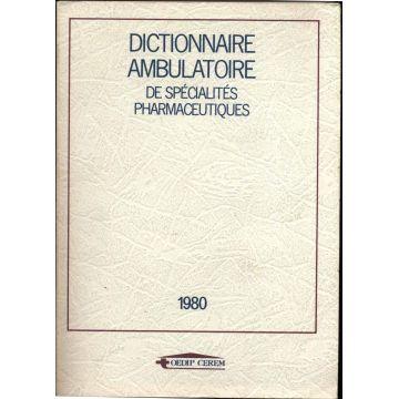 Dictionnaire ambulatoire de spécialités pharmaceutiques