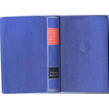 Dictionnaire de poche Taschenwörterbuch