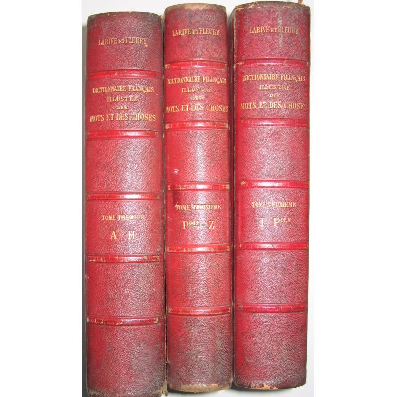 Dictionnaire français illustré des mots et des choses ou dictionnaire encyclope