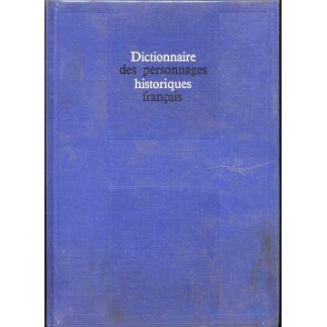 Dictionnaire historique des personnages français