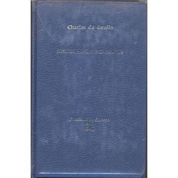 Discours et messages. De Gaulle (5 tomes)