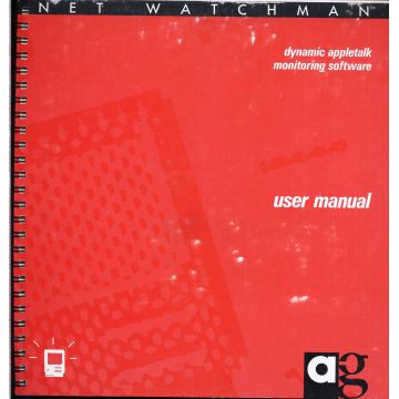 Dynamic Appletalk monitoring software user manual EN ANGLAIS