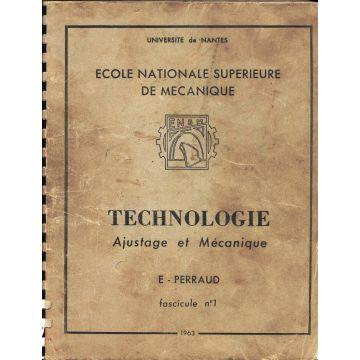 Ecole nationale superieure de mecanique Technologie Ajustage et mecanique