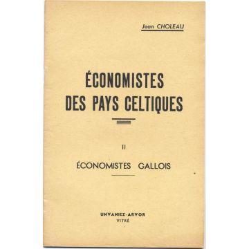 Economistes des Pays celtiques Tome 2 : Economistes Gallois