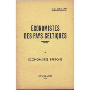 Economistes des Pays celtiques Tome 5 : Economistes Bretons