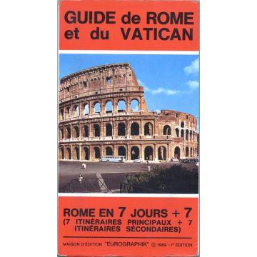 Guide de Rome et du Vatican 1969