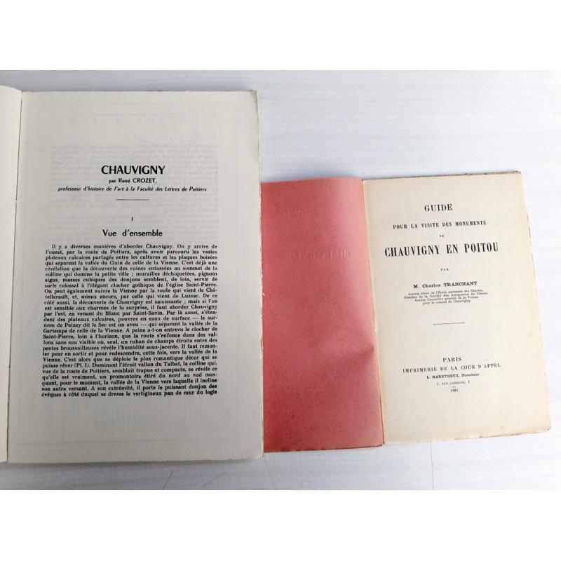Guide pour la visite 1901 + Chauvigny en Poitou et ses monuments