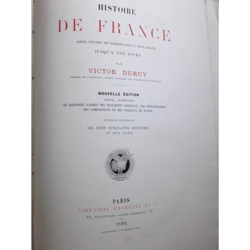 Histoire de France depuis l'invasion des barbares dans la Gaule Romaine