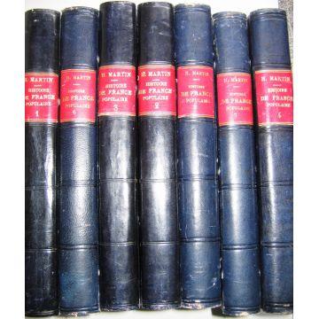 Histoire de France populaire - 7 volumes