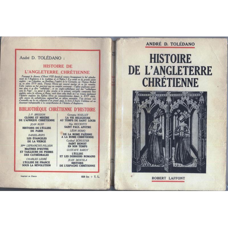 Histoire de l'Angleterre chrétienne