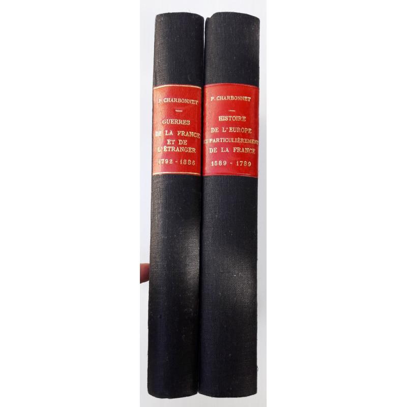 Histoire de l'Europe et particulierement de la France 1589 - 1789