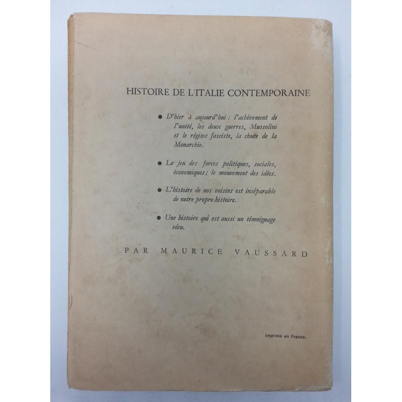 Histoire de l'Italie contemporaine 1870-1946