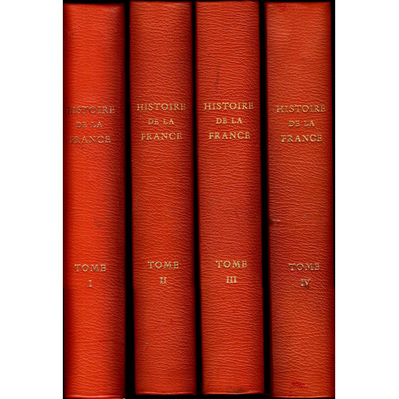 Histoire de la France par Lyautey en 4 tomes