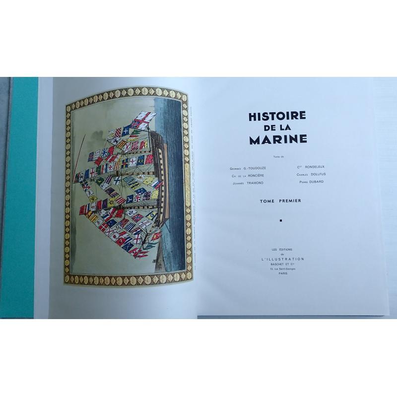 Histoire de la Marine 2 tomes