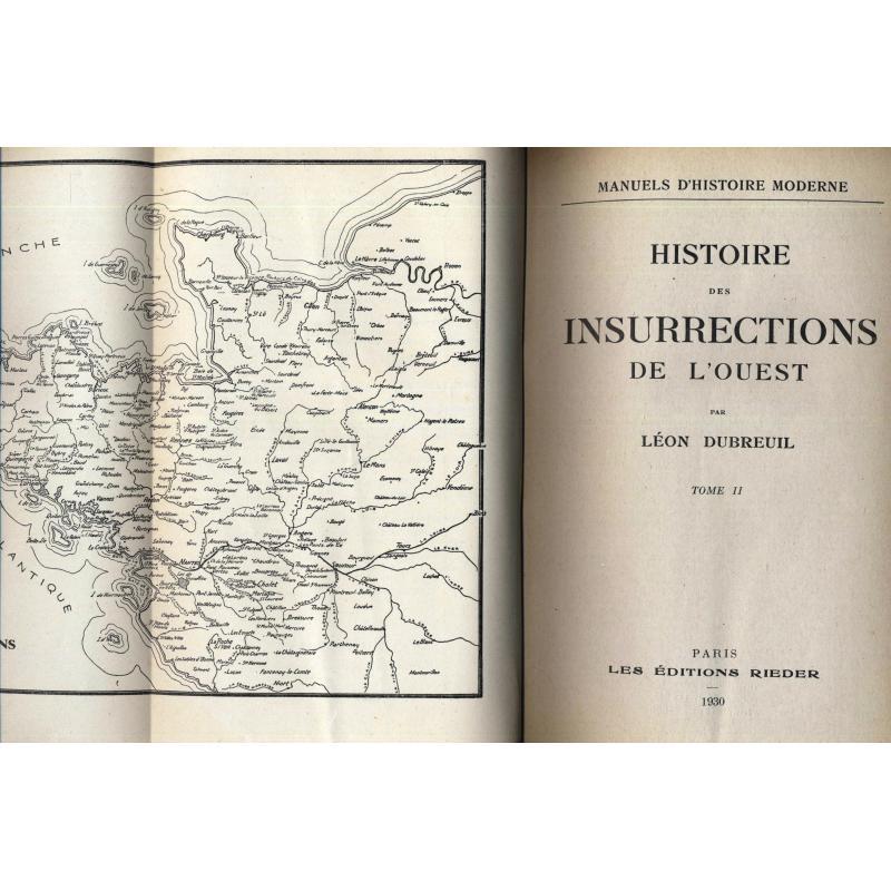 Histoire des insurrections de l'ouest tome deux
