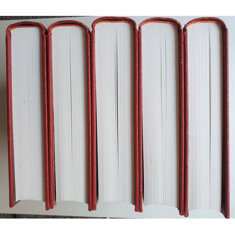 Histoire du peuple français 5 tomes 2e edition